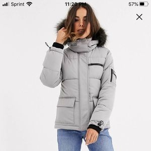 ASOS bubble coat